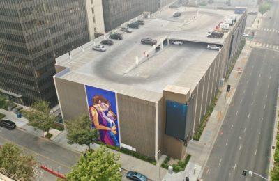 Raphael Delgado Completed 2020 Mural